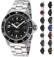 Glycine Men's 3908 Combat Sub Automatic 42mm Watch - Choice of Color