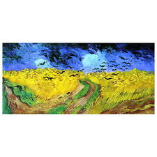 Van Gogh, Wheatfield with Crows Deco FRIDGE MAGNET, 1890 Post Impressionism