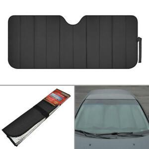carXS Sunshade Black Foil Reflective Sun Shade for Car Cover Visor Standard Size