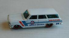Hot Wheels 1964 Chevy Nova Station Wagon weiß Beach Patrol Oldtimer Kombi HW ´64