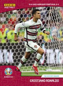 EURO 2020 Panini Instant #12 Cristiano Ronaldo History Portugal UEFA PRESALE
