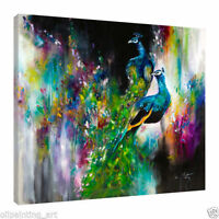 CULOP51 charming 100% hand-painted oil painting wall decor art canvas:peacocks
