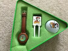 Ladies or Kids Mickey Mouse Golf Quartz Watch with Tee and Golf Ball
