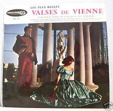 33T 25 cm + BELLES VALSES DE VIENNE Vinyl Orchestre Max SCHONHERR - PRESIDENT 12