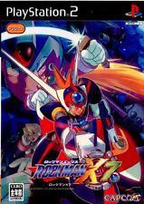 Rockman X7  Playstation 2 PS2 Japan Mega Man Rock man Rockman