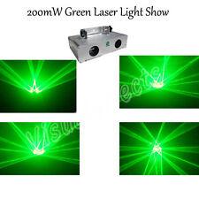 200mW Green DJ Disco Light DMX Club Stage Laser Lights