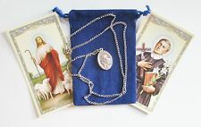 St. Gerard Saint Medal with 24 Inch Necklace
