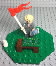 Lego New Donald Trump President Mini Figure,Billionaire With Money Mini Display