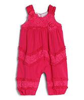 ISOBELLA & CHLOE Girls 24 Months GORGEOUS Hot Pink Ruffle Accent Romper Set 24M