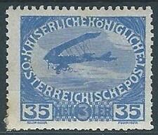 1915 AUSTRIA PRO ORFANI DI GUERRA 35+3 H MH * - A104