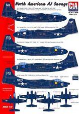 CTA Decals 1/72 NORTH AMERICAN AJ SAVAGE U.S. Navy Bomber