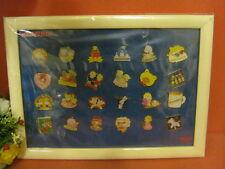 Sanrio Hello Kitty Strawberry King Tiny Poem Button Nose Badge Set MEIJI @2002