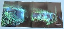 BLUE HOLES Bahamas poster ~ National Geographic -- August 2010 NGM supplement