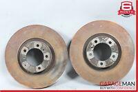 10-15 Porsche Panamera 970 Rear Right & Left Side Brake Rotor Disc Set OEM