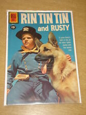 RIN TIN TIN AND RUSTY #38 FN+ (6.5) DELL COMICS JULY 1961