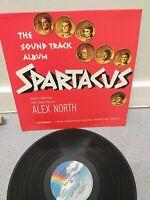 Spartacus soundtrack Alex North US IMPORT   LP  1980 REISSUE  release  EX