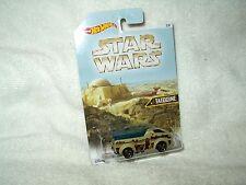 Action Figure Star Wars Hot Wheels Vehicle Car Tatoine The Vanster 3 of 8