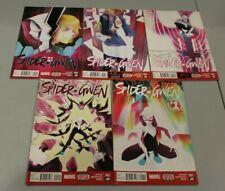 Complete Set Spider-Gwen 1 2 3 4 5 NM 1st Prints Gwen Stacy Spider-man Edge of