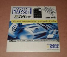 PAGINE BIANCHE OFFICE 2001-2002