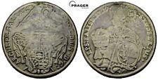 PRAGER: RDR, Salzburg, Leopold Firmian Taler 1729 [1063]