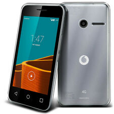 iDefend Vodafone Smart Mini 7 Clear Gel Silicone Case Cover + Screen Protector
