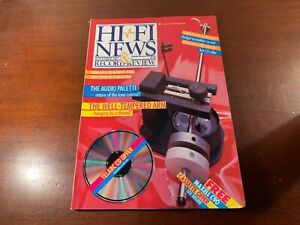 hi fi news and record review hi-fi magazine nice condition November 1985