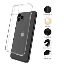 For iPhone 12 11 XR Case Shock Proof Crystal Soft Silicone Gel Bumper Cover Slim