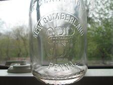 Milk Bottlegbp Parthemore And Sons New Cumberland Penna. Pa