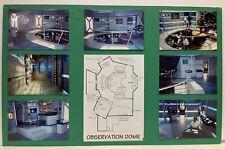Babylon 5 Observation Dome Set Design Storyboard Used In Production