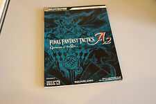 FINAL FANTASY TACTICS A2 GRIMOIRE OF THE RIFT STRATEGY GAME GUIDE FOR THE DS.