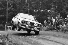Timo Salonen Datsun Violet GT 1000 Lakes Rally 1981 Photograph 1
