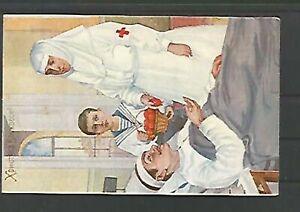 109751 / Rotes Kreuz Postkarte Medizin Russland ?