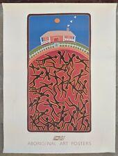 ANOTHER STORY Sally Morgan Aboriginal Art Poster Silkscreen Aussie Canvas Print