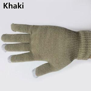 Keep Warm Unisex Warm Gloves Touch Screen Gloves Knitting Autumn Winter Gloves