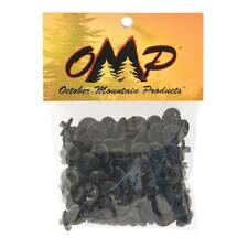 OMP Slotted Kisser Button 9/16'' 100 Pack