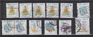 HONG KONG CHINA 1999 USED SELECTION SG973 $1.30 to SG986 $10