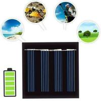 2V 120mA Mini Solar Panel Module For Battery Cell Phone DIY Charger M0F3