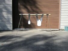 SI Targets Steel Rebar Target Stand for hanging AR500 Steel and other targets
