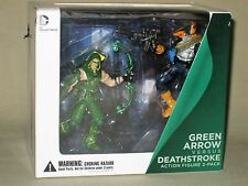 DC Collectible Injustice Gods Among Us Green Arrow vs versus Deathstroke Figures