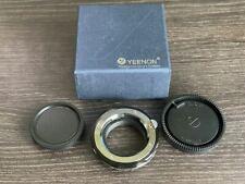 Yeenon LM-NEX Leica M VM-E Close Focus Adapter Sony E Black Mint Boxed