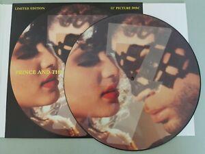 "PRINCE 7 UK 12"" PICTURE DISC vinyl W0147TP EX"