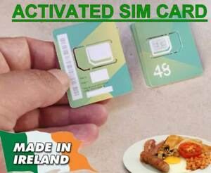 Ireland SIM CARD - Operator 48 - activated and ready to use +353xxxxx irish
