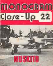 AERONAUTICA AIRCRAFT Monogram Close Up 22 Focke Wulf TA154 Moskito - DVD