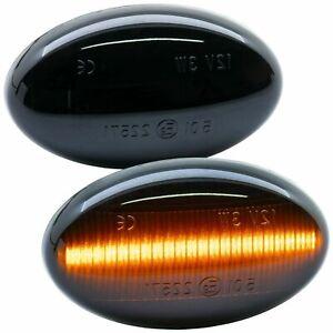2 Indicator LED Smart Fortwo 450 1998-2007 & Smart Roadster Cut 452 Black