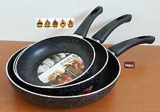 promo 3 poeles en pierre Casserole marmite SCHUMANN  ceramique dispo inox