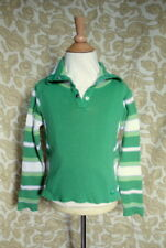 Vintage 90's Children Place sz 7 Sweater Green Knit with Stripes