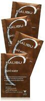 4-pk of 0.17oz ea Malibu C Hard Water Weekly Demineralizer Wellness Hair Remedy