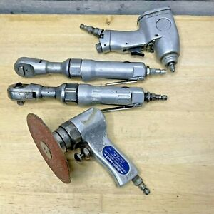 Vintage Air Tools Pneumatic Ratchets Cut-Off & Impact Driver Garage Workshop Man
