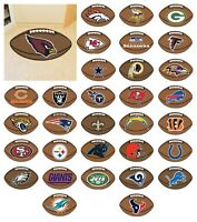 "NFL -  Football Rug Football Team Logo 20.5"" x 32.5"""