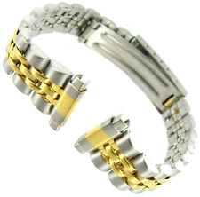 10-14mm Speidel Express Two Tone Stainless Steel Ladies Watch Band 277DR BOGO!